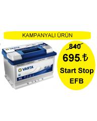 Start Stop 70 Amper Varta Akü N70